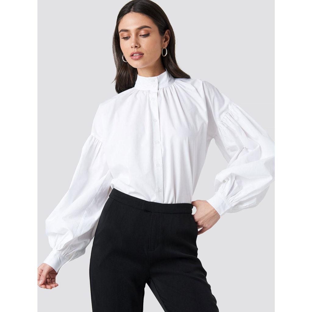 Weiße Bluse von NAKD