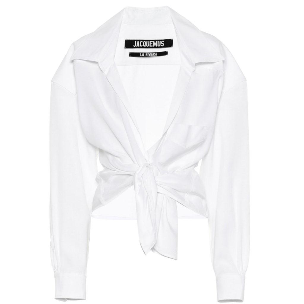 Weiße Bluse von Jacquemus