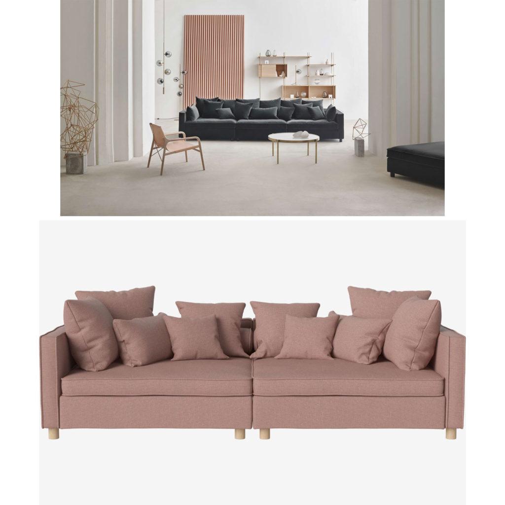 Investment-Pieces: Couch von Bolia