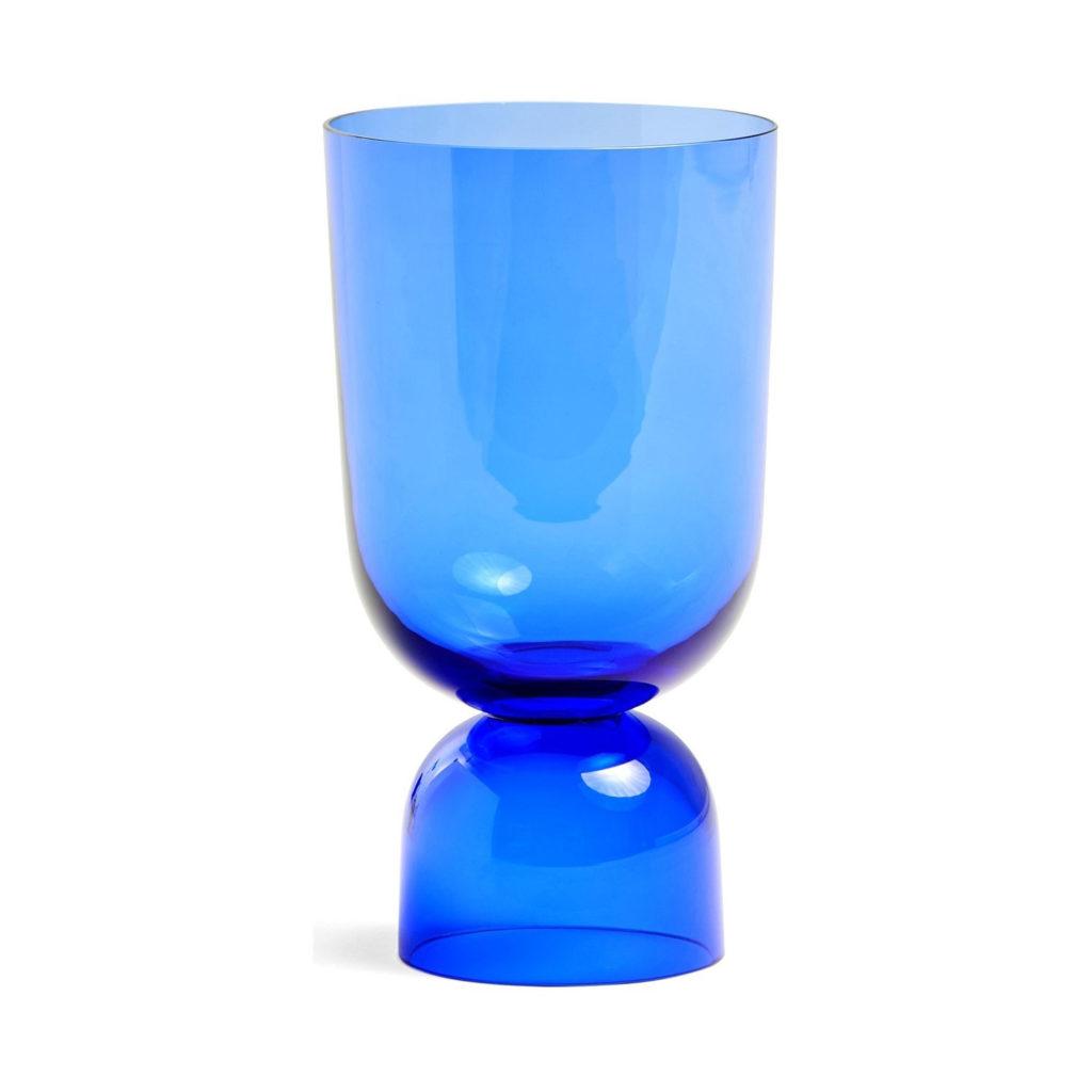 Buntglas: Vase von Hay