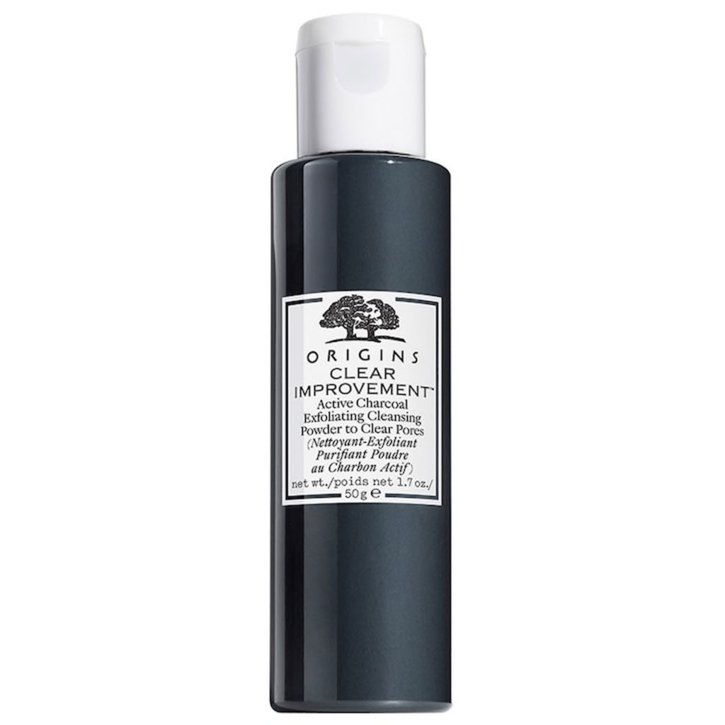 Active Charcoal Exfoliating Cleansing Powder to Clear Pores von Origins
