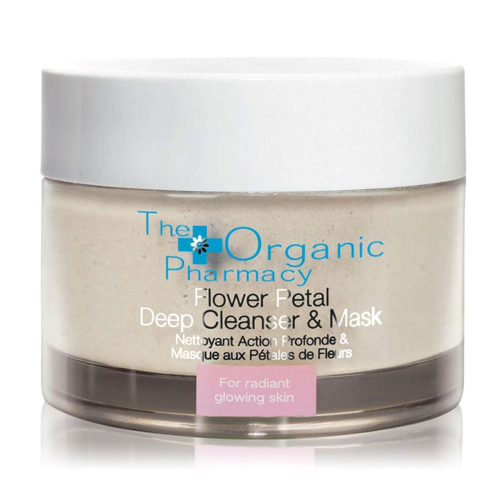 Flower Petal Deep Cleanser & Mask von The Organic Pharmacy