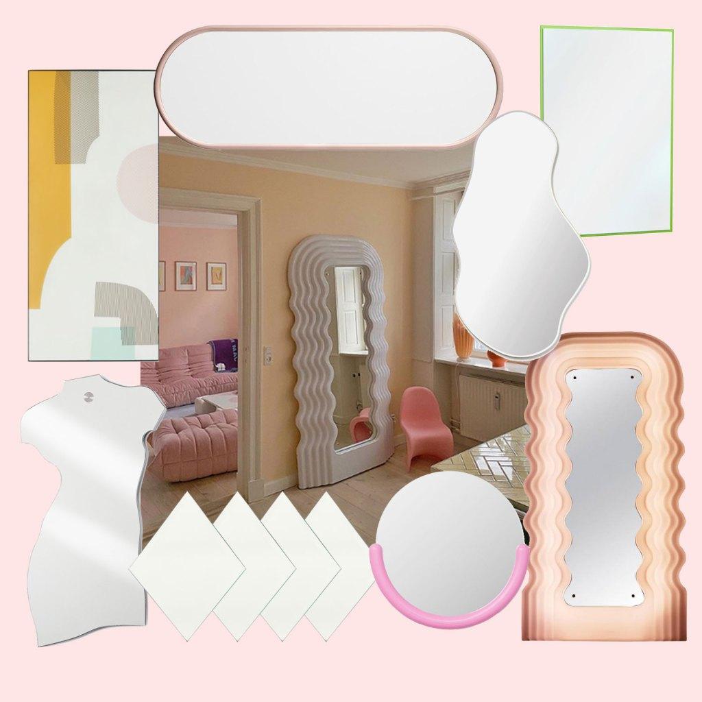 Interior-Trend: Deko-Spiegel