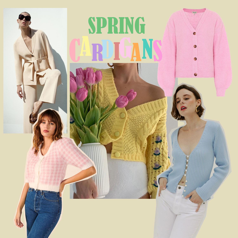Frühlingstrend: Cardigan