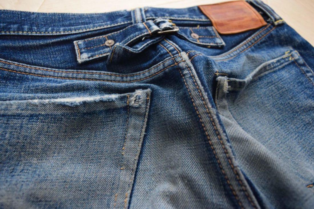 ボンクラデニムのバックポケット