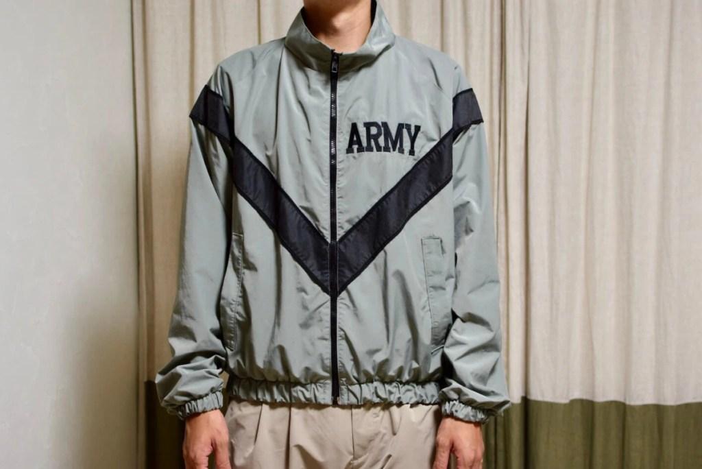 IPFUジャケットの着用写真正面