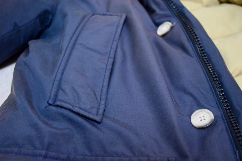 アークティックパーカーの右ポケット