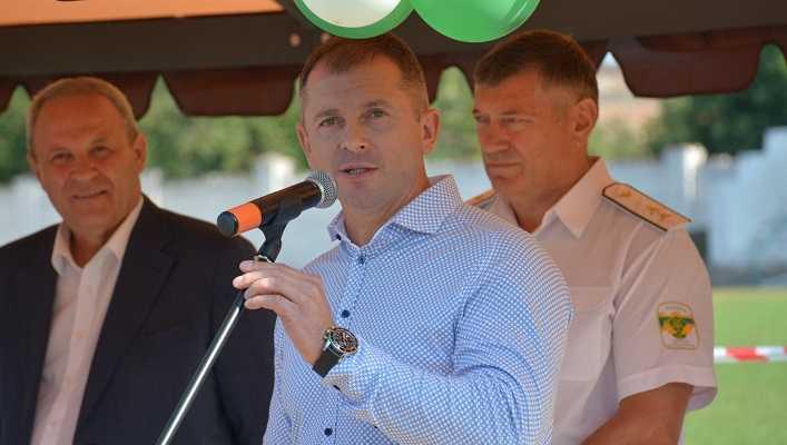 Ігор Молоток привітав мешканців Кролевця з днем міста