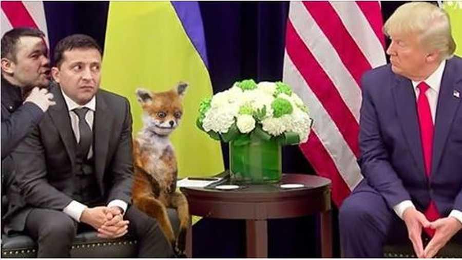 Владимир Зеленский, величайший лидер нашего времени, и Трамп