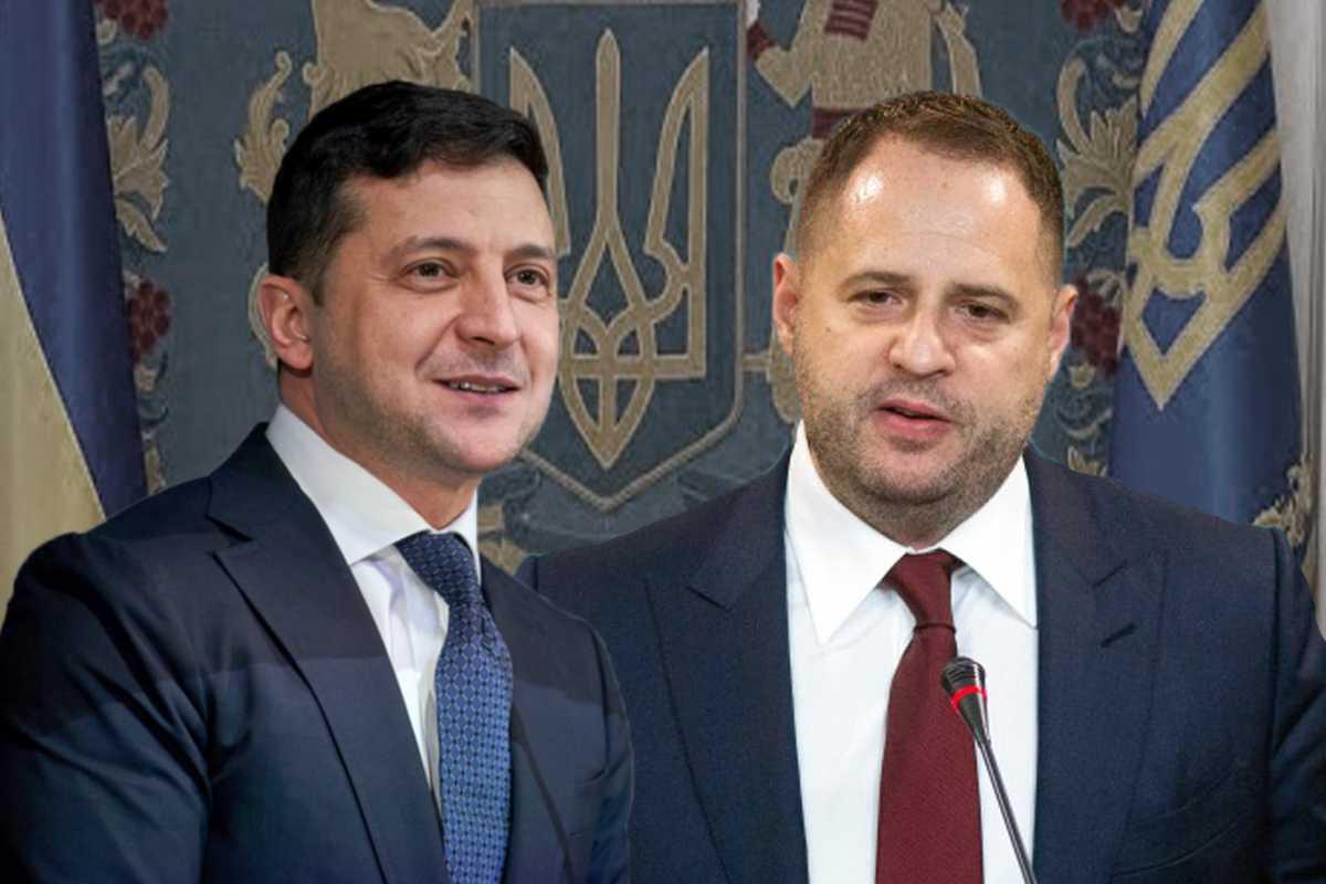 «Єрмак його друг, а Лерос — аферист», сказав Зеленський на зустрічі фракції СН