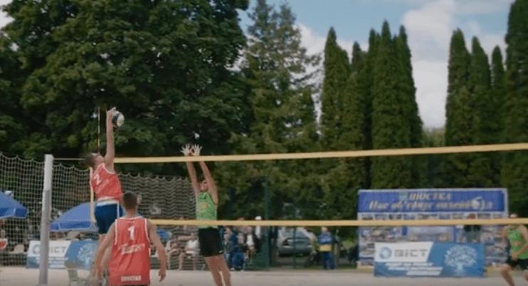 Игорь Молоток открыл в Шостке Кубок Украины по пляжному волейболу (Видео)