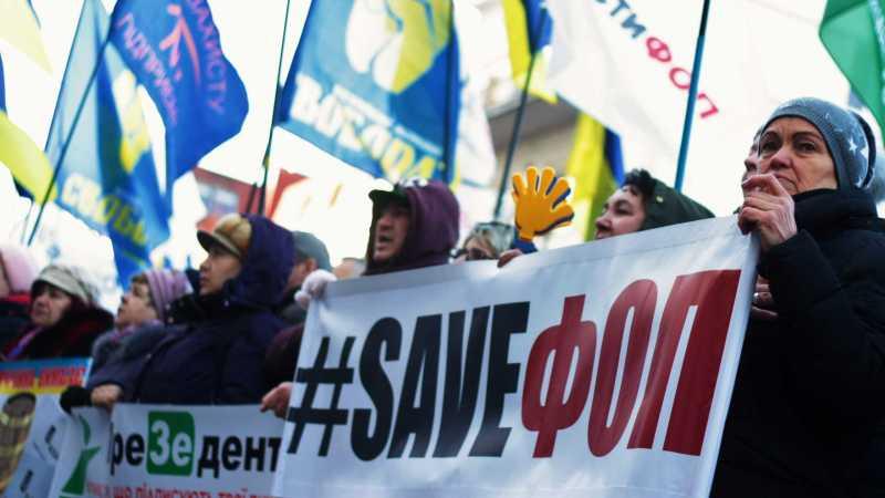 «ФОПівці» та «Євробляхери» які так хотіли Зеленського завтра будуть протестувати проти його податкової політики.