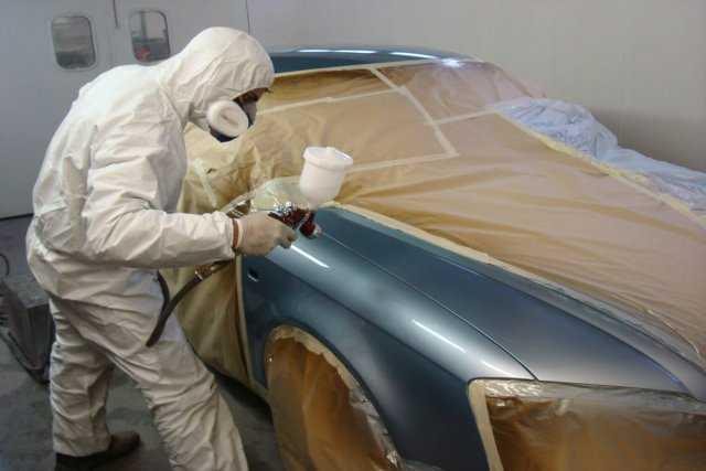 Покраска кузова автомобиля. Важные подробности