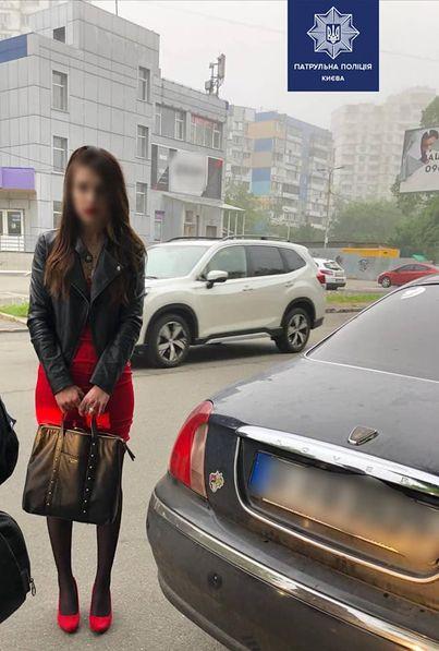 В Києві поліція затримала водійку з наркотиками: нею може виявитися студентка Університету ім. Шевченка Віолета Зайнуліна