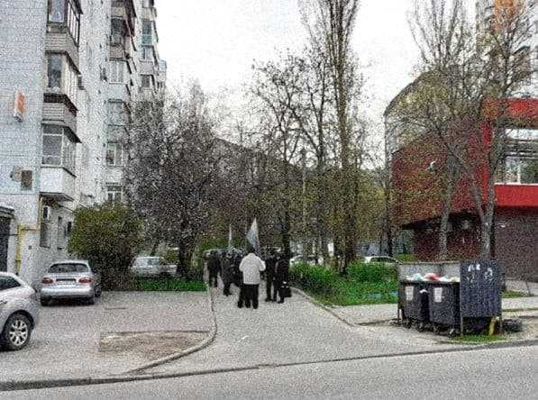 Біля будинку російського спецагента Кулініча на Печерську пройшла акція протесту