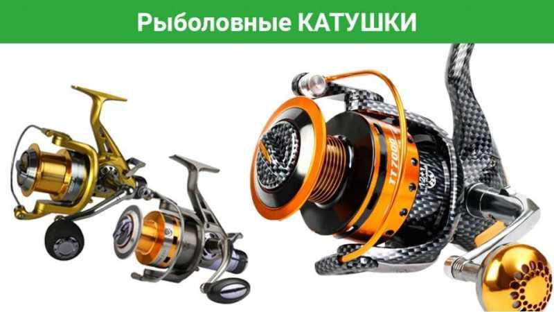 3 самых популярных вида катушек, которые вы можете купить в рыболовном интернет-магазине «Amias»