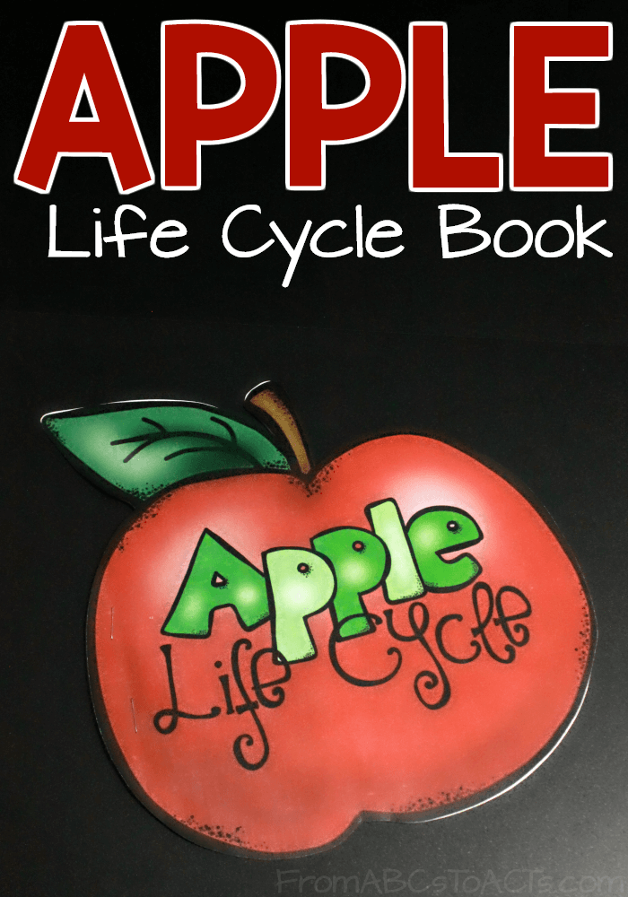 Printable Apple Life Cycle Book For Kids From Abcs To Acts
