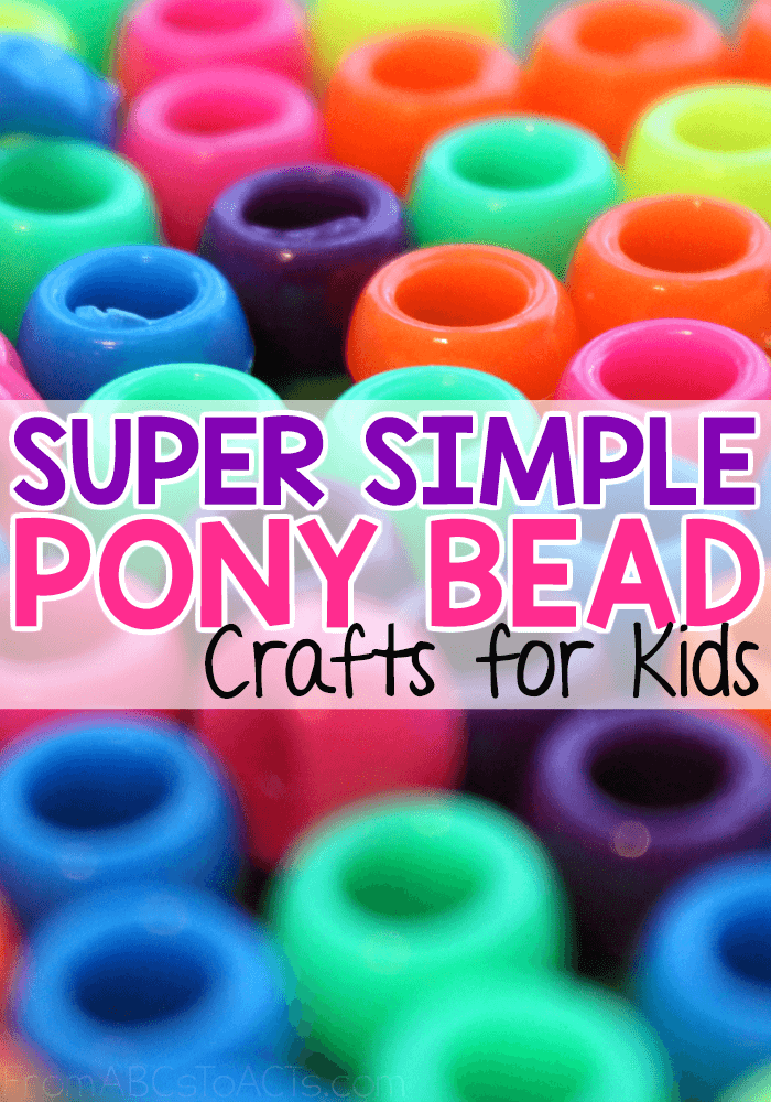 Super Simple Pony Bead Crafts For Kids From Abcs To Acts