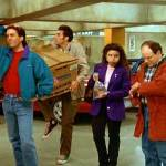 The Seinfeld group was organized compared to us