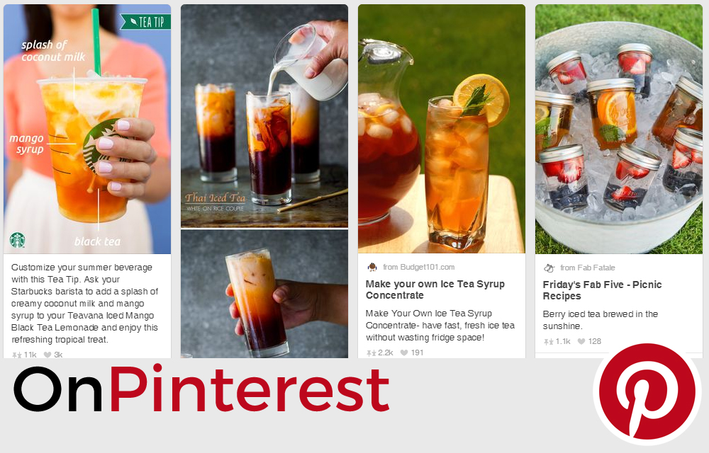 Ideas from Pinterest for iced tea From Anna's Kitchen (www.fromannaskitchen.com)
