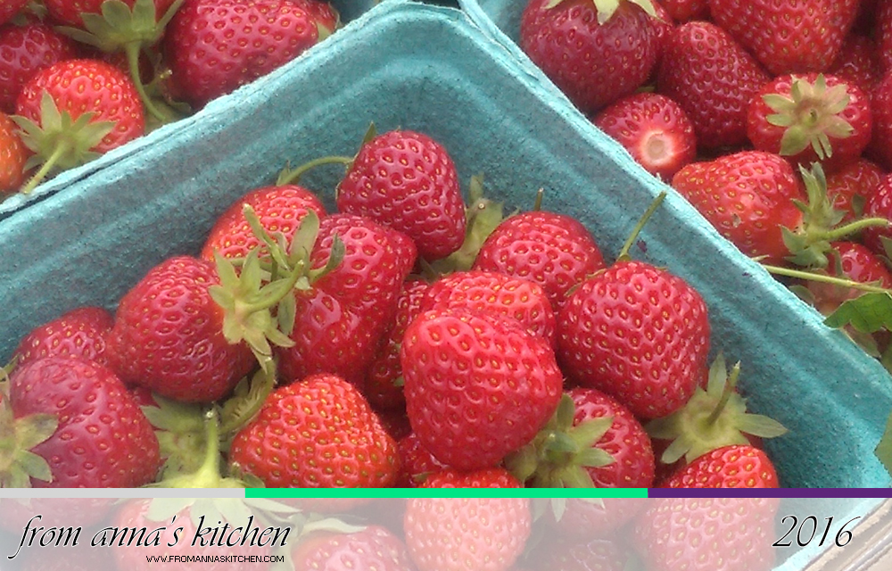Strawberry Picking and Preserving: Strawberry-Balsamic Jam and Strawberries in Syrup