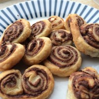 Young Foodie Travels: Nutella & Hazelnut Palmiers (Puff Swirls)