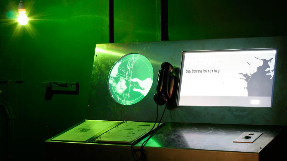 Røsnæs - interaktiv installation i Vågehøj bunkeren