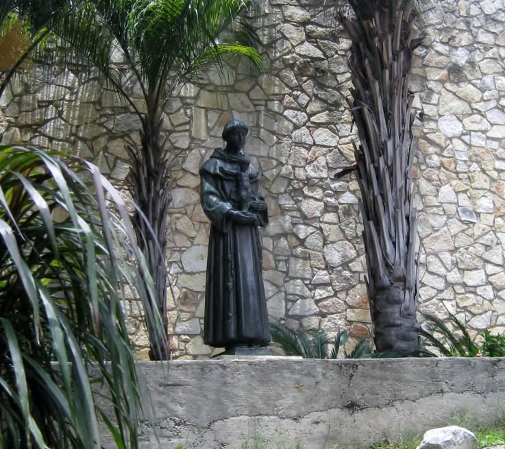 San Antonio de Padua, patron saint of children and lost things. My personal favorite.