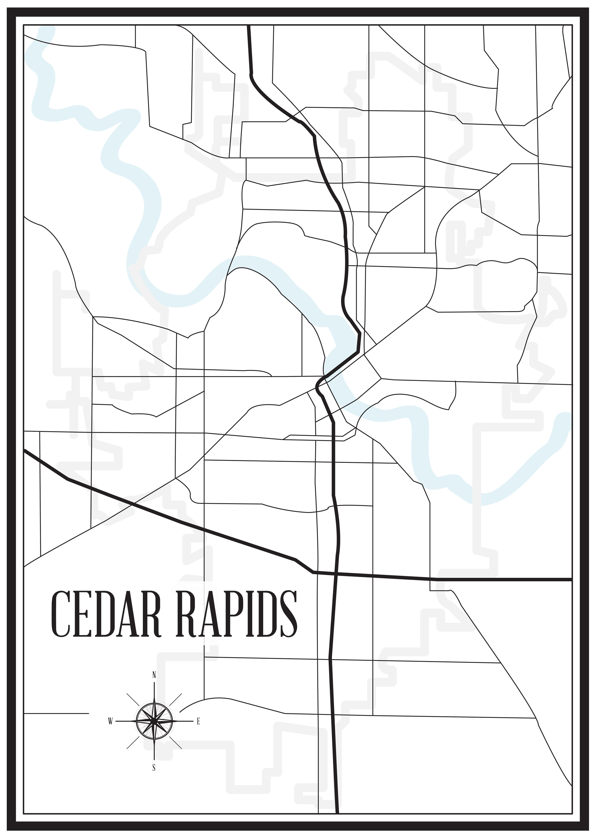 Map Of Cedar Rapids Iowa Dot | Wiring Diagram Database Cedar Rapids Iowa Map on