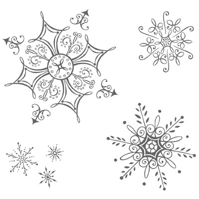 Quilling Snowflake Patterns