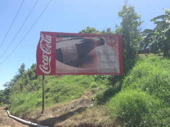 Ah, Coca Cola welcomes us to Pantelhó