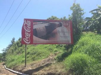 Ah, Coca Cola welcomes us to Pantelhó