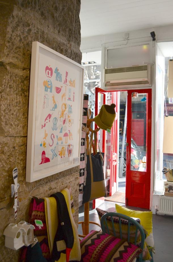 One Last Edinburgh Red Door Gallery From China Village