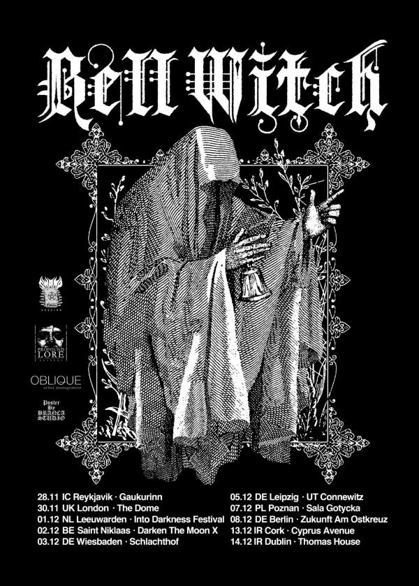 Bell Witch European Tour Dates