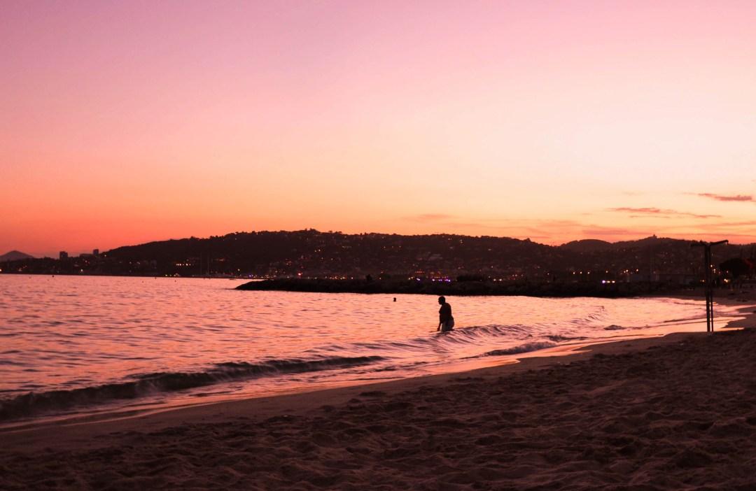 Coucher de Soleil Antibes Juans les Pins