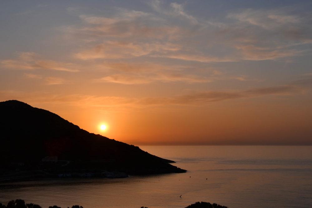 Balagne coucher de soleil