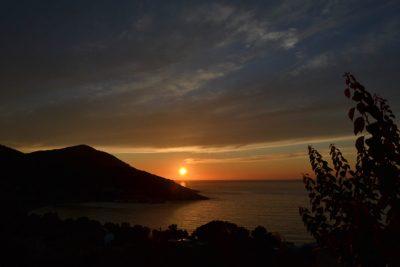 Haute-Corse coucher de soleil