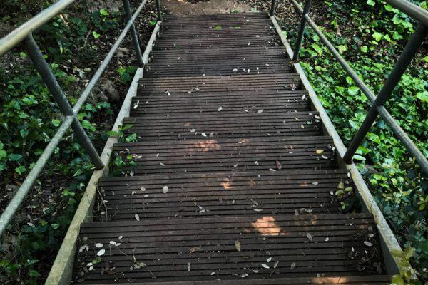 pont sentier du littoral cap d'antibes