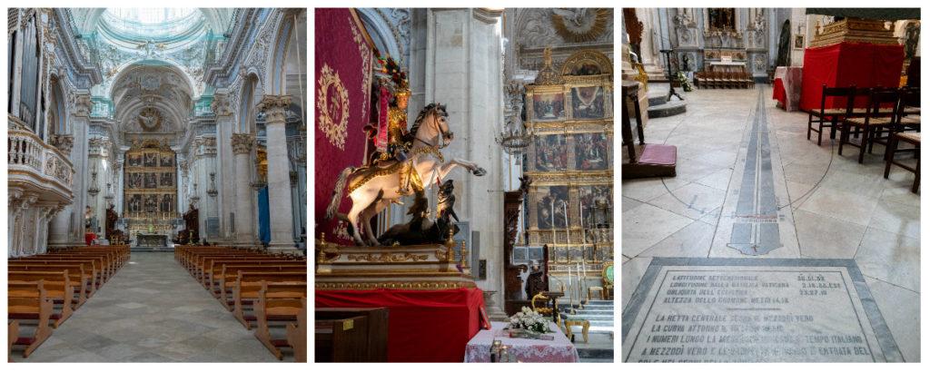 Duomo San Giorgio à Modica, l'intérieur