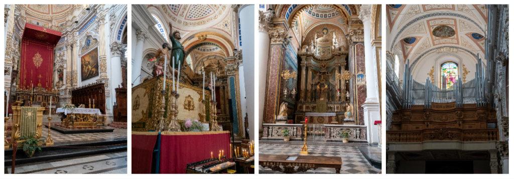 Le Duomo San Pietro à Modica Bassa, l'interieur