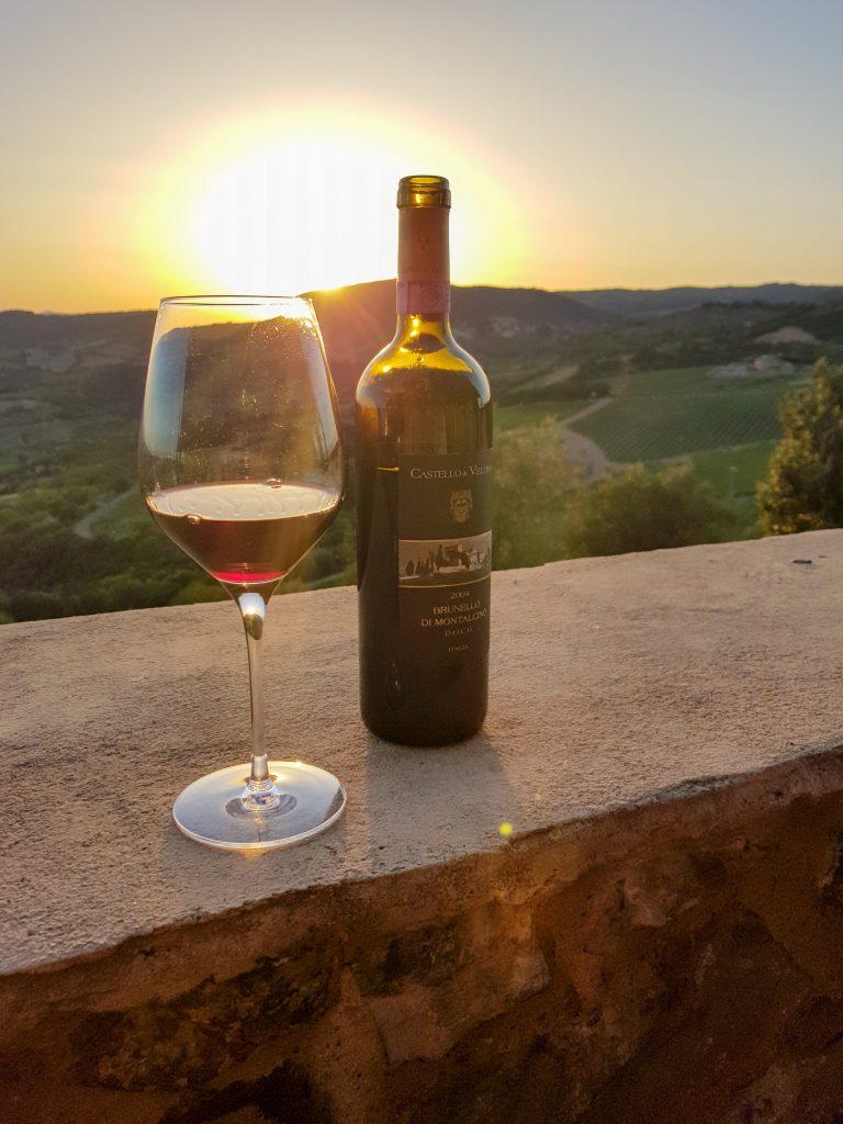 Week-end en amoureux en Toscane, déguster un délicieux Brunello di Montalcino