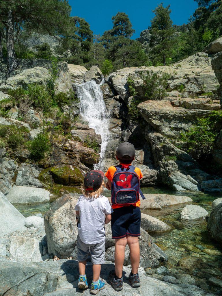 Randonnées familiales en Corse