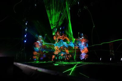 Laser Light Painting Show
