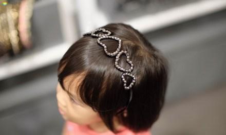 Beautiful Hairband on Hailey