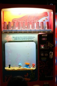 Vending Machine Aquarium