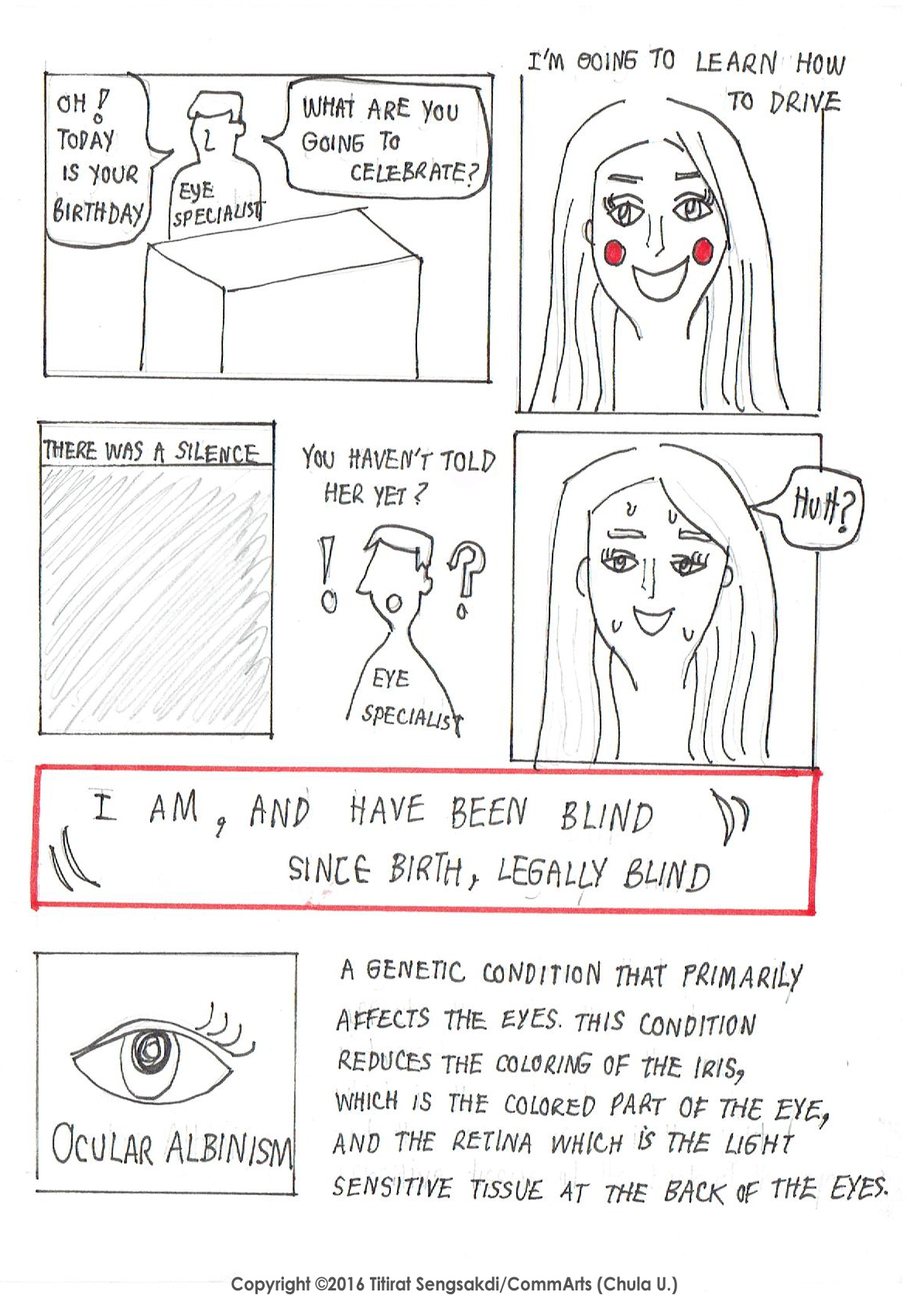 """Life Beyond Limitation"", a Graphic Narrative by Titirat"
