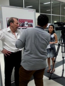 Press: Interview with David Lloyd for Thai channel Voice TV by khun Flag.