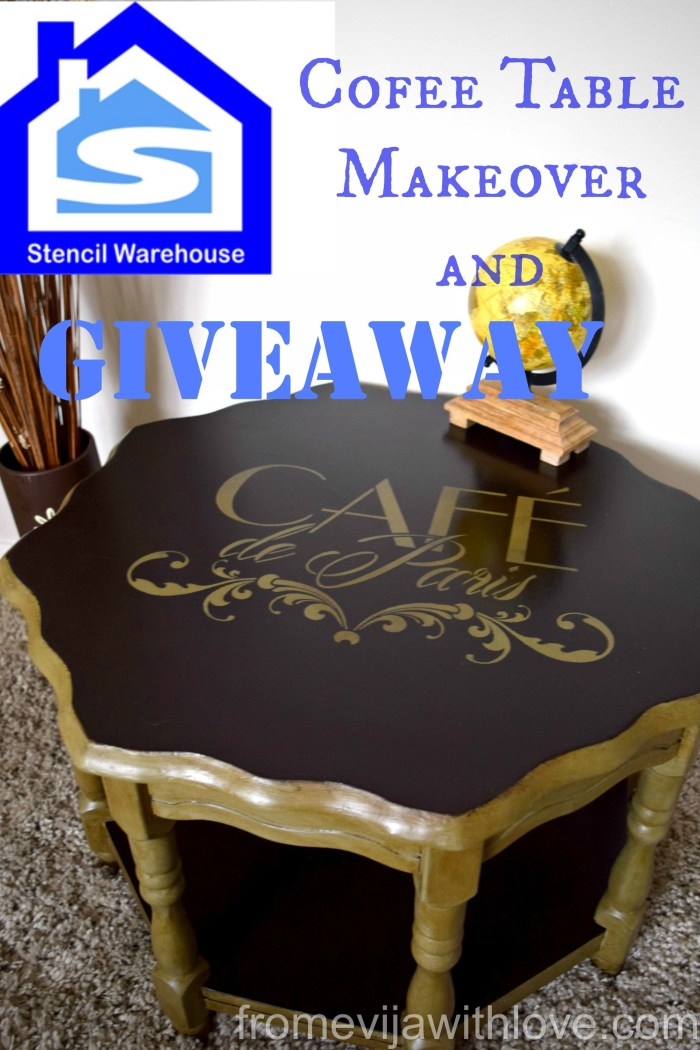 stencil coffee table