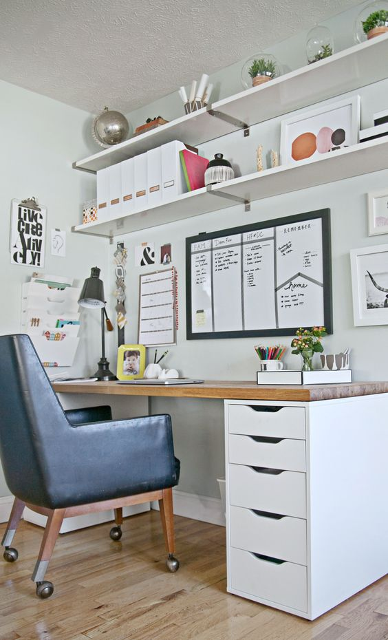 Craft Room and Office Space Ideas