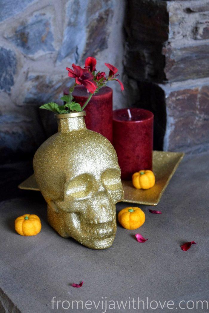 halloween-vase